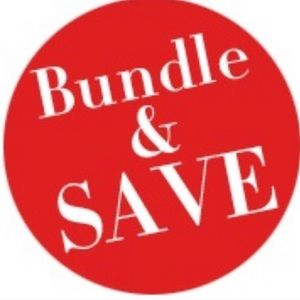 Bundle 3 items and get 20% off!!! 👍🏻